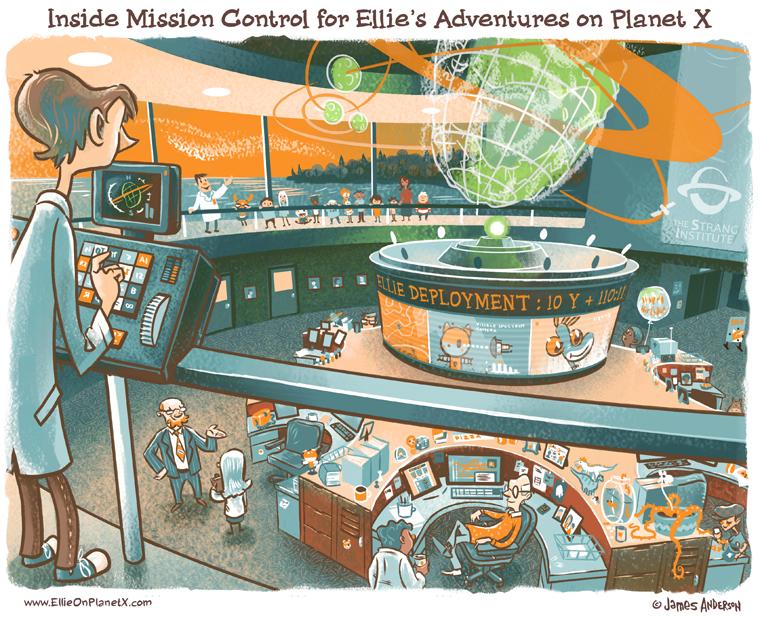 Inside Ellie's Mission Control