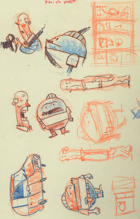 spacetrawler-sketches