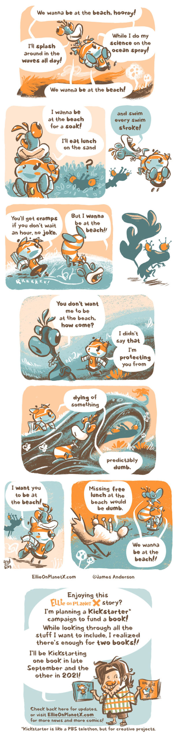 I wanna be at the beach